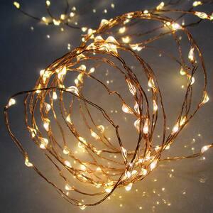 Ghirlanda luminoasa HOME ML 80/WW, 80 led-uri, 7.9m, iluminare alb cald