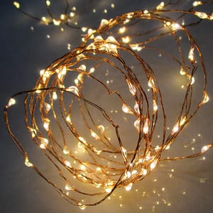 Ghirlanda luminoasa HOME ML 80/WW, 80 micor led-uri, 7.9m, iluminare alb cald