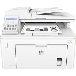 Multifunctional monocrom HP LaserJet Pro MFP M227fdn, A4, USB, Retea