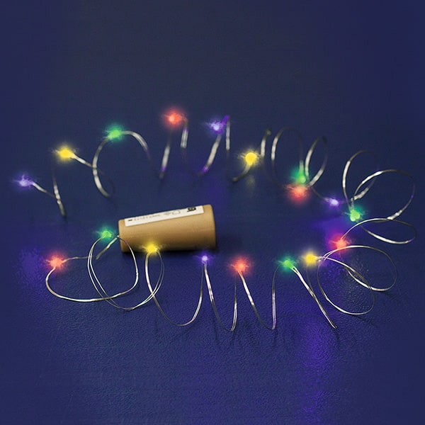 Ghirlanda luminoasa HOME MLD 20/M, 20 micro led-uri, 2m, iluminare multicolor
