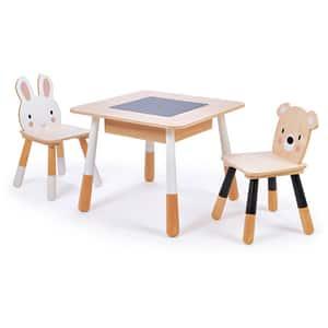 Set masa cu 2 scaune TENDER LEAF Forest TL8801, 3 ani+, multicolor