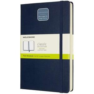 Carnet notite MOLESKINE Expanded Soft Notebook, velina, Large, 200 file, albastru