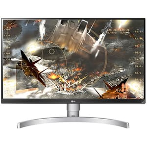 "Monitor LED IPS LG 27UL650-W, 27"", 4K UHD, HDR 400, Radeon FreeSync, 60Hz, alb"