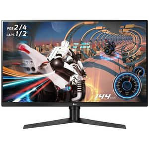 """Monitor Gaming LED VA LG UltraGear 32GK650F-B, 32"""", QHD, 144Hz, Radeon FreeSync, negru"""