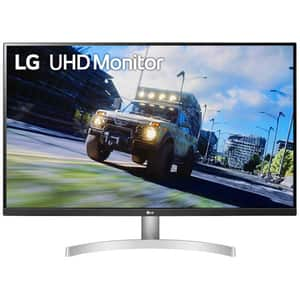"Monitor LED VA LG 32UN500-W, 31.5"", 4K UHD, 60Hz, AMD FreeSync, alb"