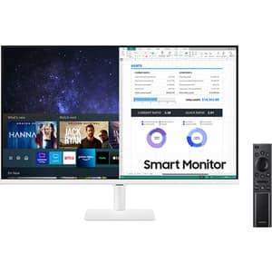 """Monitor LED VA SAMSUNG LS32AM501NUXEN, 32"""", Full HD, 60Hz, Flicker Free HDR10, alb"""
