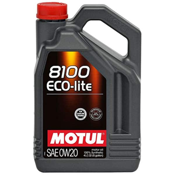 Ulei motor MOTUL ECO-LITE MOT8100ECO0W204L, 0W20, 4l