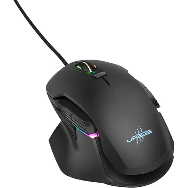 Mouse gaming HAMA uRage Reaper 900 Morph, 16000 dpi, negru