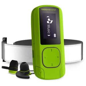 MP3 player ENERGY SISTEM Greestone ENS447244, 16GB, FM, Sport Armband, verde