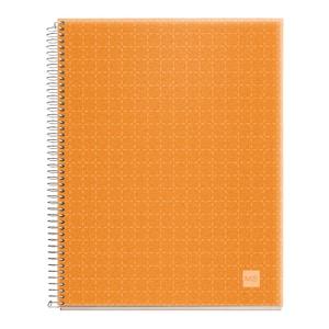 Caiet pentru scoala MIQUELRIUS, matematica, A4, 140 file, legatura spirala, portocaliu