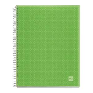 Caiet pentru scoala MIQUELRIUS, matematica, A4, 140 file, legatura spirala, verde