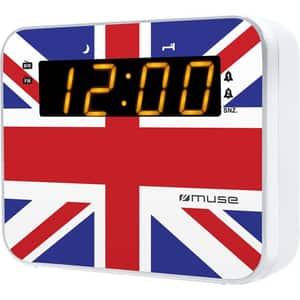 Radio cu ceas MUSE M-165 UK, FM, MW, Dual Alarm, multicolor