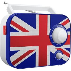 Radio portabil MUSE M-062 UK, FM, multicolor