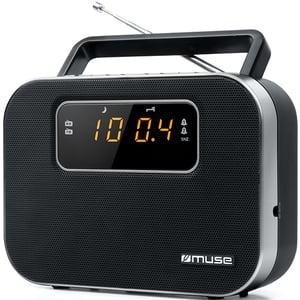 Radio portabil MUSE M-081 R, FM, negru