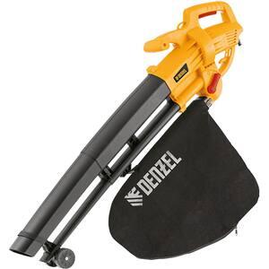 Aspirator/Suflanta electric DENZEL BDE-3000, 3000W, 270km/h, 35l, galben