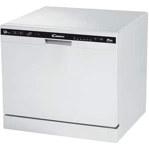 Masina de spalat vase independenta CANDY CDCP8/E, 8 seturi, 6 programe, 60 cm, clasa A+, alb