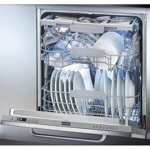 Masina de spalat vase incorporabila FRANKE FDW 614 D7P DOS, 14 seturi, 8 programe, 60 cm, Clasa D, argintiu inchis