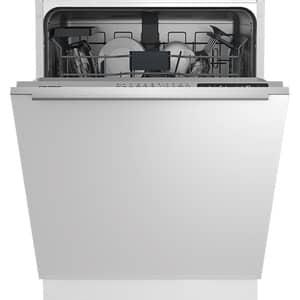 Masina de spalat vase incorporabila GRUNDIG GNV 31622, 14 seturi, 6 programe, 60 cm, Clasa E, inox