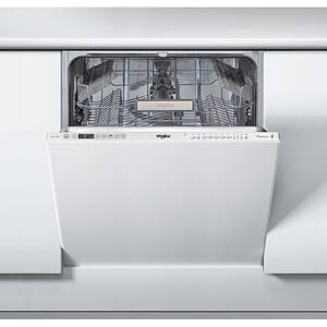 Masina de spalat vase incorporabila WHIRLPOOL WKIO3T12365P, 6th sense, 14 seturi, 10 programe, 60 cm, clasa A++, inox