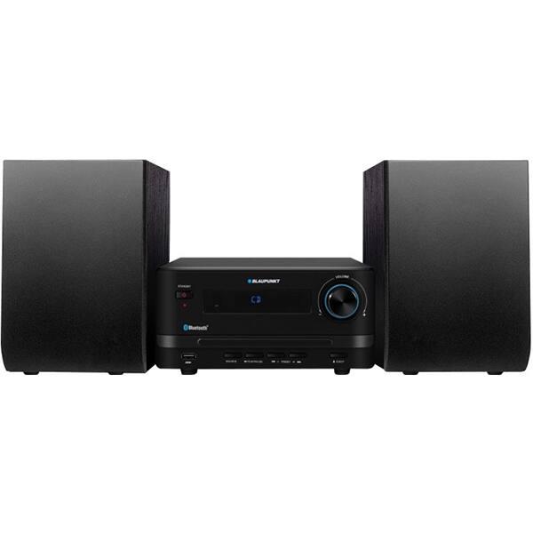 Microsistem audio BLAUPUNKT MS14BT, 15W, Bluetooth, USB, CD, Radio FM, negru