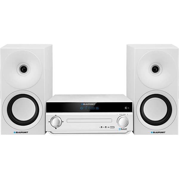 Microsistem audio BLAUPUNKT MS30BT Edition, 40W, Bluetooth, USB, CD, Radio FM, argintiu