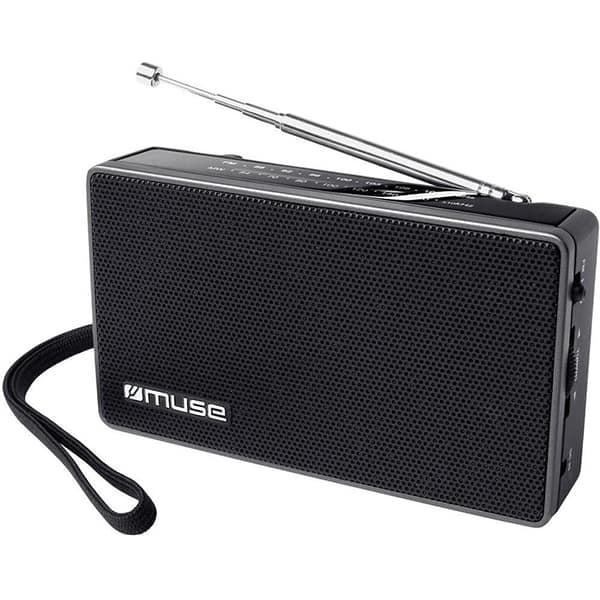 Radio portabil MUSE M-030 R, FM, negru