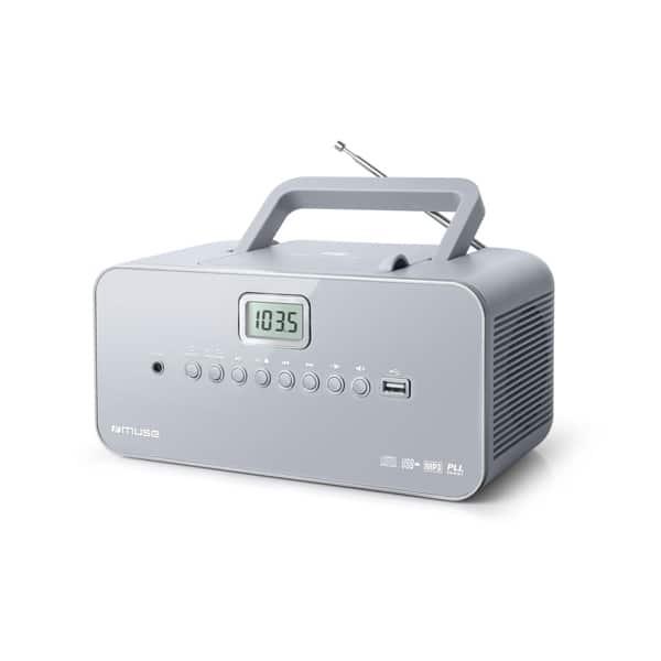 Radio CD MUSE M-28 LG, FM, MW, USB, negru