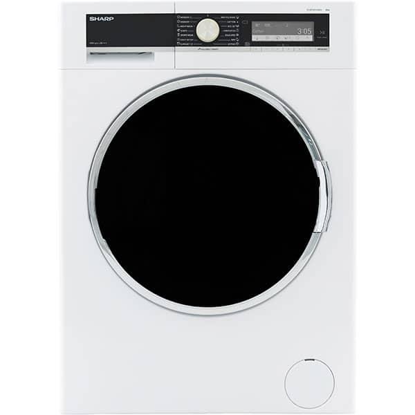 Masina de spalat rufe frontala SHARP ES-GFD8104W3EE, AllergySmart, 8kg, 1000rpm, Clasa A+++, alb