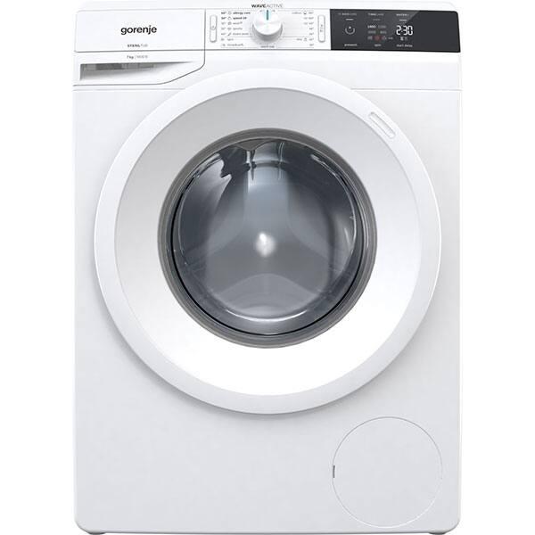 Masina de spalat rufe frontala GORENJE WE74S3, 7kg, 1400rpm, A+++, alb