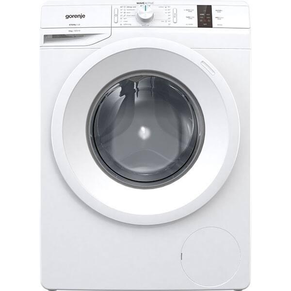 Masina de spalat rufe frontala GORENJE WP60S3, WaveActive, 6kg, 1000rpm, Clasa A+++, alb