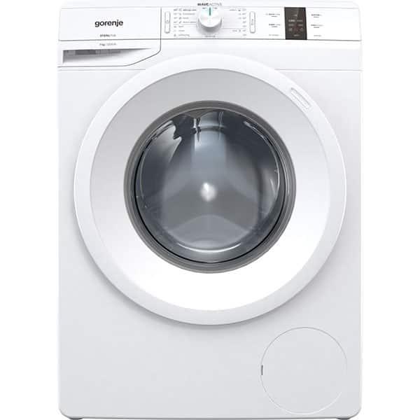 Masina de spalat rufe frontala GORENJE WP72S3, WaveActive, 7kg, 1200rpm, Clasa A+++, alb