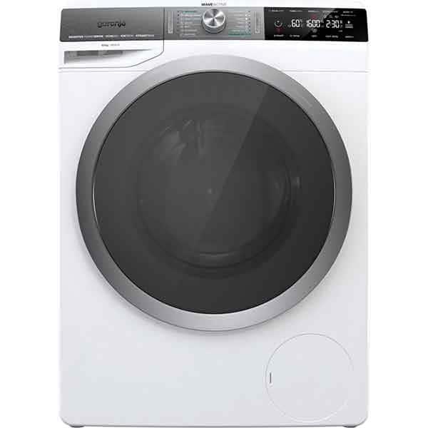 Masina de spalat rufe frontala GORENJE WS168LNST, WaveActive, IonTech, 10kg, 1600rpm, Clasa A+++, alb