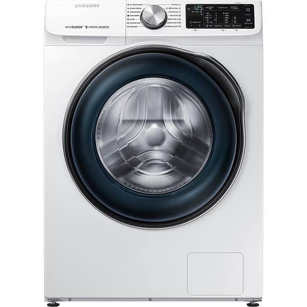 Masina de spalat rufe frontala SAMSUNG WW10N644RBW/LE, EcoBubble, 10kg, 1400rpm, Clasa A+++, alb