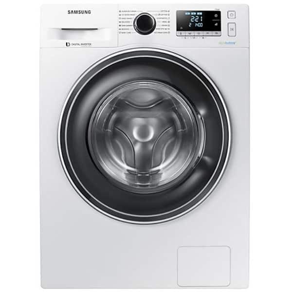 Masina de spalat rufe frontala SAMSUNG WW90J5446EW/LE, EcoBubble, 9kg, 1400rpm, Clasa A+++, alb