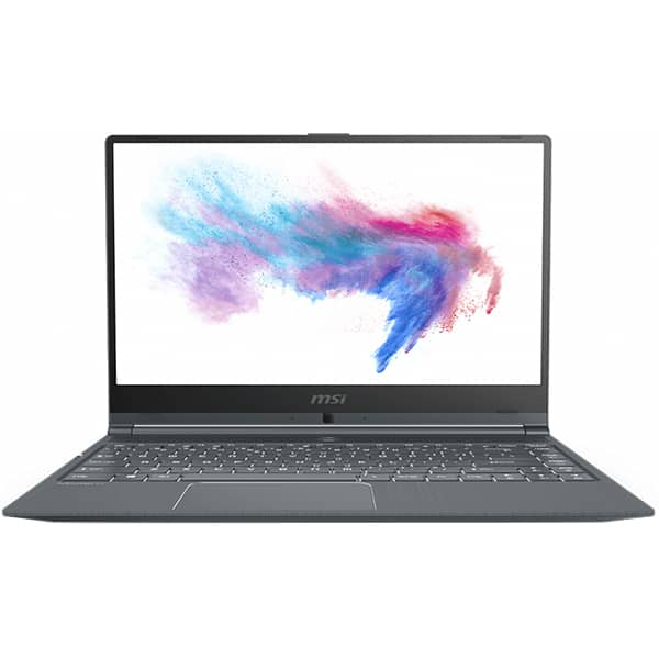 "Laptop MSI Modern 14 A10M, Intel Core i5-10210U pana la 4.2GHz, 14"" Full HD, 16GB, SSD 512GB, Intel UHD Graphics, Free DOS, gri"
