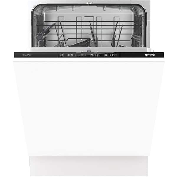 Masina de spalat vase incorporabila GORENJE GV63161, 13 seturi, 5 programe, 60cm, Clasa A++, alb