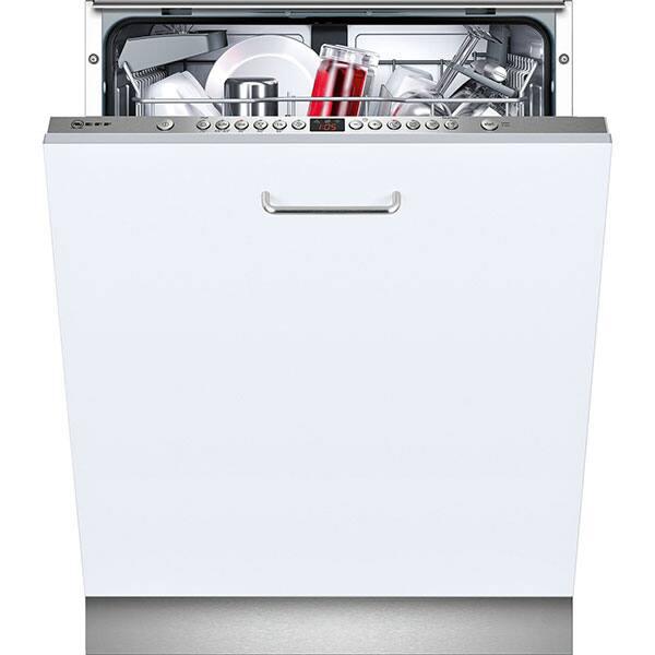 Masina de spalat vase incorporabila NEFF S513G60X0E, 12 seturi, 6 programe, 60 cm, Clasa A++, inox