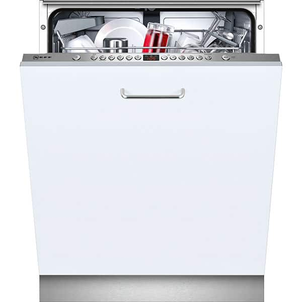 Masina de spalat vase incorporabila NEFF S513J60X3E, 13 seturi, 6 programe, 60 cm, Clasa A++, inox