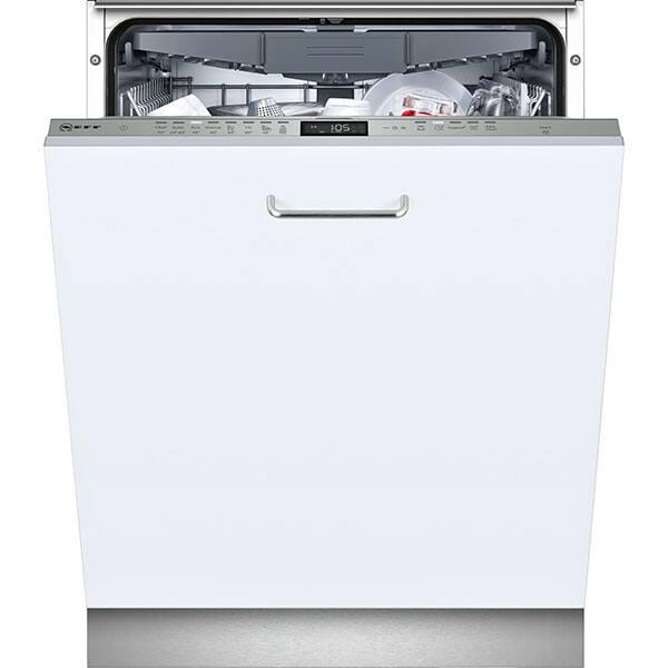 Masina de spalat vase incorporabila NEFF S515M80X1E, 14 seturi, 8 programe, 60 cm, Clasa A++, inox
