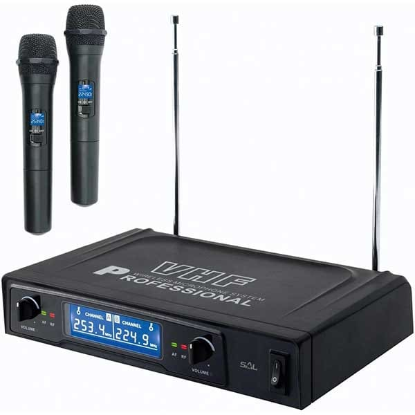 Set microfoane Wireless SAL MVN 510, negru