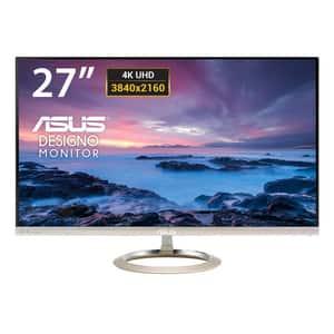 "Monitor LED AH-IPS ASUS MX27UC, 27"", 4K UHD, 60Hz, Icicle Gold - Black"