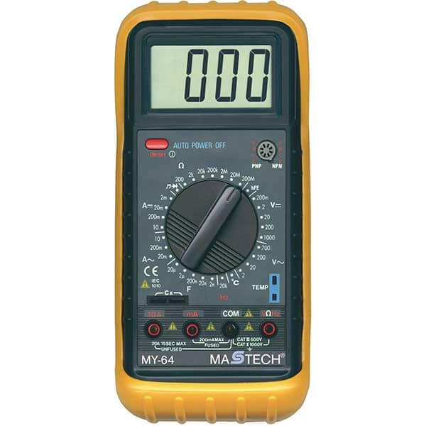 Multimetru digital SMA MY 64, 9V, protectie cauciuc