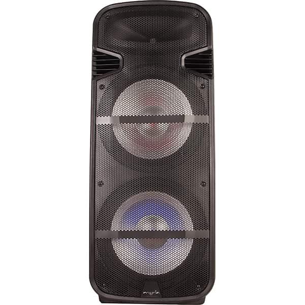 Boxa portabila MYRIA MY2618, 50W RMS, Bluetooth, Radio FM, negru