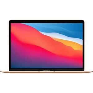 "Laptop APPLE MacBook Air 13 mgnd3ze/a, Apple M1, 13.3"" Retina Display, 8GB, SSD 256GB, Grafica integrata, macOS Big Sur, Gold - Tastatura layout INT"