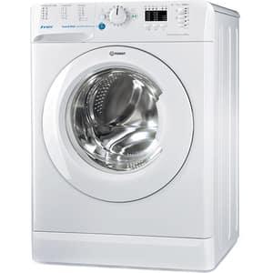 Masina de spalat rufe frontala INDESIT BWA 71252 W EU, Push & Wash, 7kg, 1200rpm, Clasa A++, alb