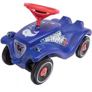 Masinuta BIG Bobby Car Classic Police, 12 luni+, albastru