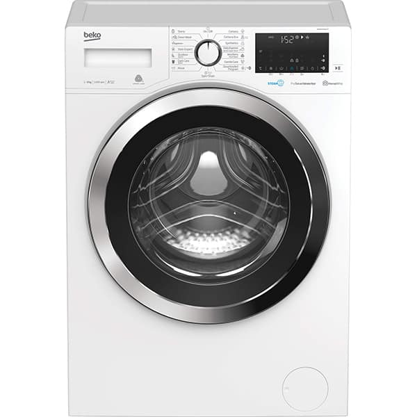 Masina de spalat rufe frontala BEKO WUE81436CST, HomeWhiz, 8kg, 1400rpm, Clasa A+++, alb