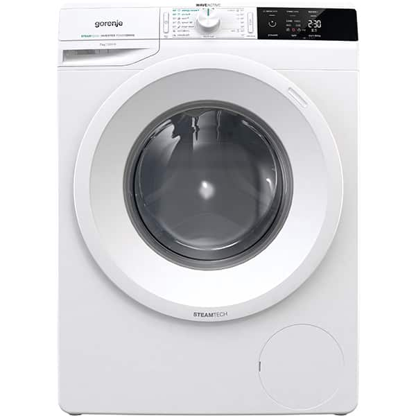 Masina de spalat rufe frontala GORENJE WEI72S3S, SteamTech, 7kg, 1200rpm, Clasa A+++, alb