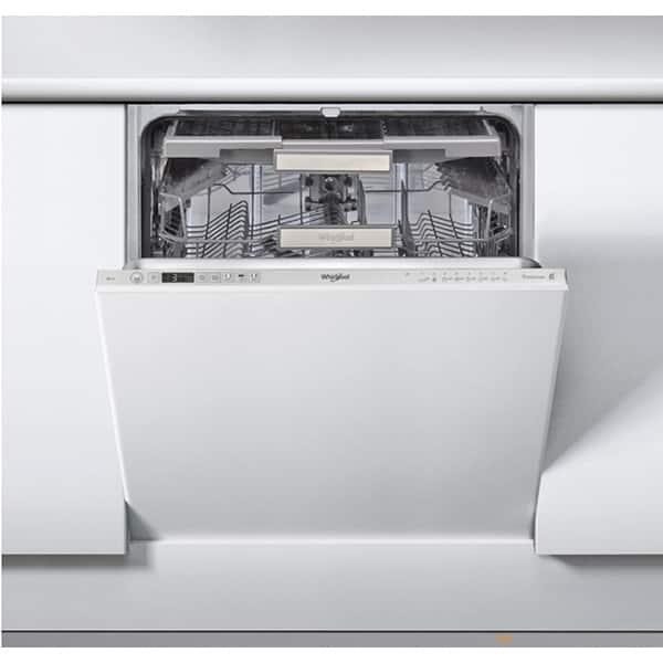 Masina de spalat vase incorporabila WHIRLPOOL WIO 3T223 PFG E, 6th sense, 14 seturi, 10 programe, 60 cm, clasa A++