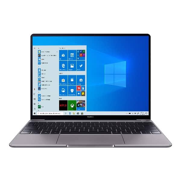 "Laptop HUAWEI MateBook 13, Intel Core i5-10210U pana la 4.2GHz, 13"" 2K IPS, 8GB, SSD 512GB, Intel UHD Graphics 620, Windows 10 Home, gri"